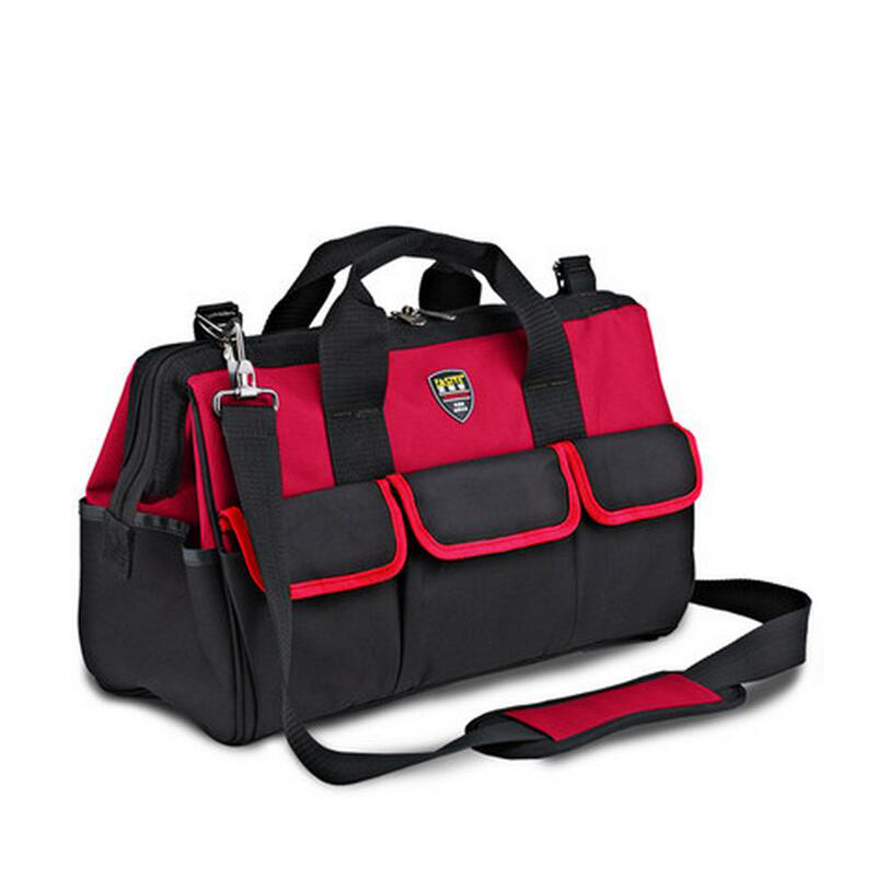 FASITE Tool Combo Bag WAIST BELT Organizer Professional Electricians Tool Pouch Red Tool Bag Red td new design electricians waist pocket tool belt pouch bag screwdriver carry case holder outdoor working free shipping