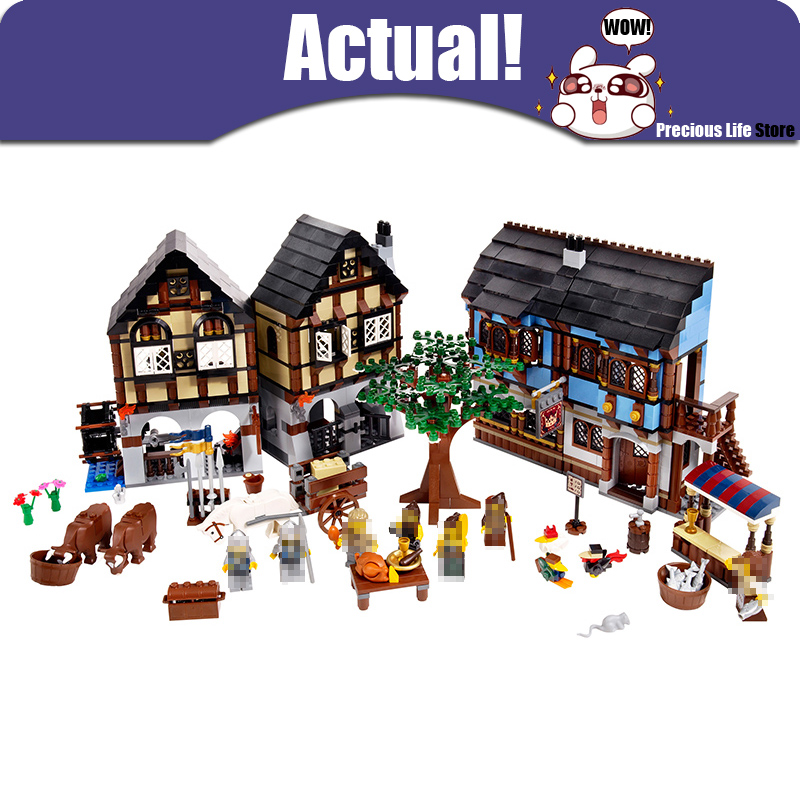 Lepin Historical Castle 16011 1601pcs Medieval Market Village Building Blcoks Bricks DIY Toys For Children Compatible With 10193 the mitochondrial genome historical aspects