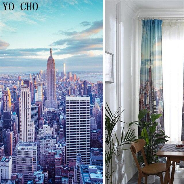 YO CHO Moderne Empire State Building 3d rideau occultant für ...