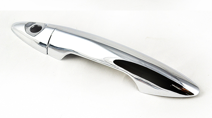 lowest price FUNDUOO For KIA K2 RIO 3 Sedan 2011 2012 2013 2014 2015  New Chrome Car Door Handle Cover Trim Sticker Accessories Free Shipping