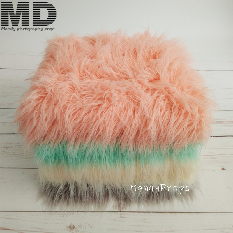 170cmx90cm(67x35)Mongolian Faux Fur blanket,10cm Long Faux Curly Fur Blanket,Basket stuffer filler,Newborn Photo Props omron hj 005 шагомер