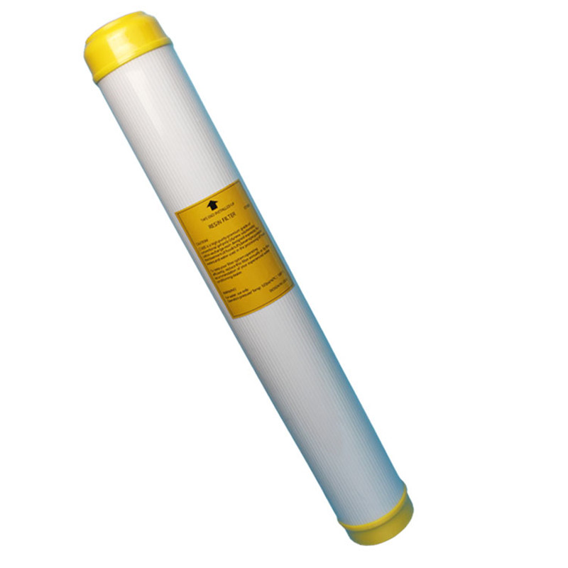 20-Inch Water Resin Softening Filter Cartridge Reduce <font><b>Hardness</b></font> And Effectively Removes Descaling RESIN Water Purifier Filter