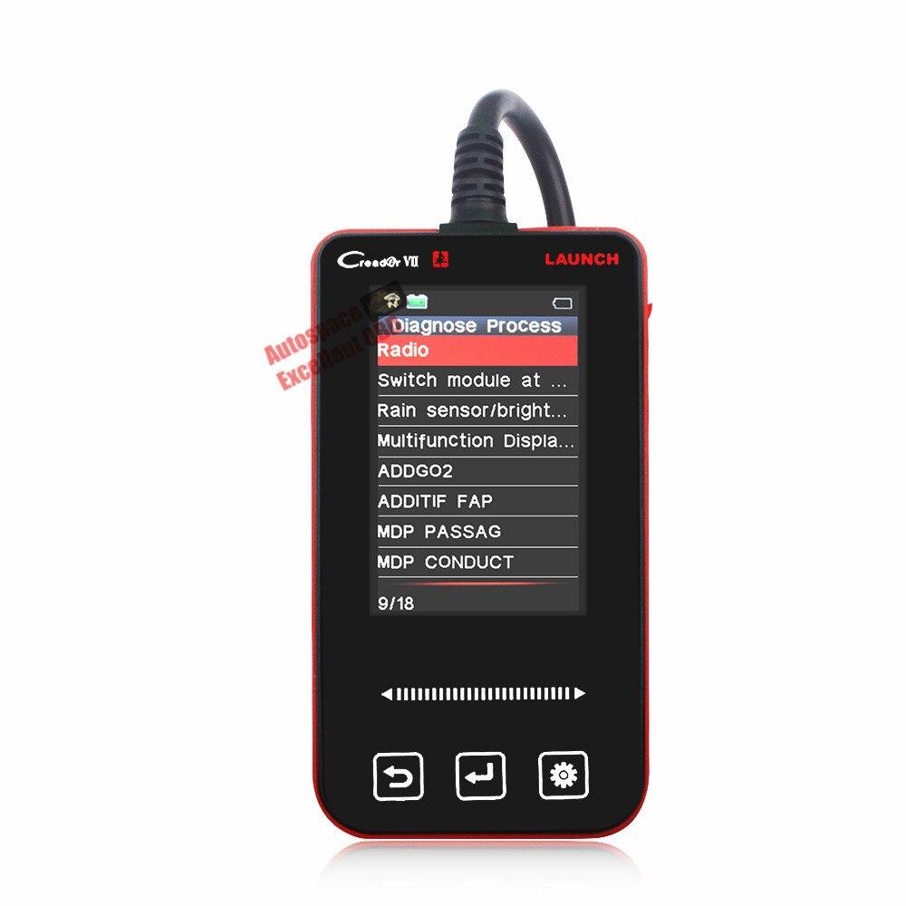 US $113 91 |2017 Creader VII 7 Car ABS BSI SRS Audio Alarm Reset Full  System Reader Scanner Diagnostic Tool For Citroen C3/C4/C5/Picasso-in Code