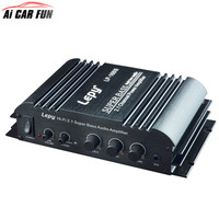 LP 168S 2 1 Channel Multifunctional Car Amplifier Portable 3 55MM Audio Wired 168S Mini Hi