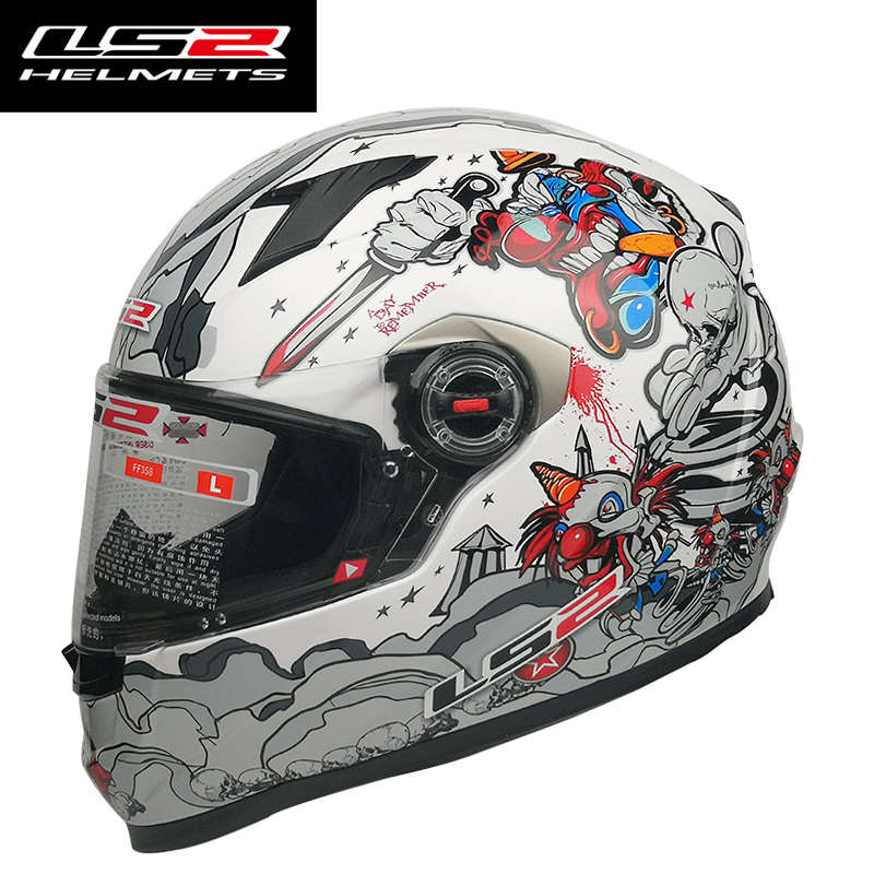 Image 5 - LS2 FF358  Full Face Motorcycle Helmet Woman Man Capacete ls2  With Removable Inner pads Casco Moto capacete de motocicleta-in Helmets from Automobiles & Motorcycles