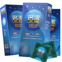 100PCS Lubricant Large Oil Quantity Tasteless Condoms For Men Natural Latex Silky Smooth Slim Sensitive Condom