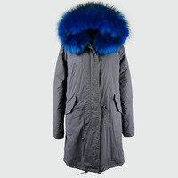 JZAYV Для мужчин пальто из искусственного меха 2018 модная зимняя верхняя одежда Искусственный мех Длинные куртки пальто с мехом плюс Размеры Д...