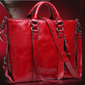 2016 New Fashion Women Leather Handbag Vintage Women Messemger Bags Shoulder Bag Hot Crossbody Bag Genuine Leather Tote Bolsas