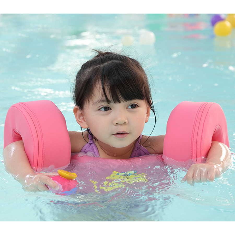 High Quality Baby Swim jacket baby swimming vest Children Kids Water Sports Foam Life Jacket Learn Swimming arm rings age 2-8 цена и фото
