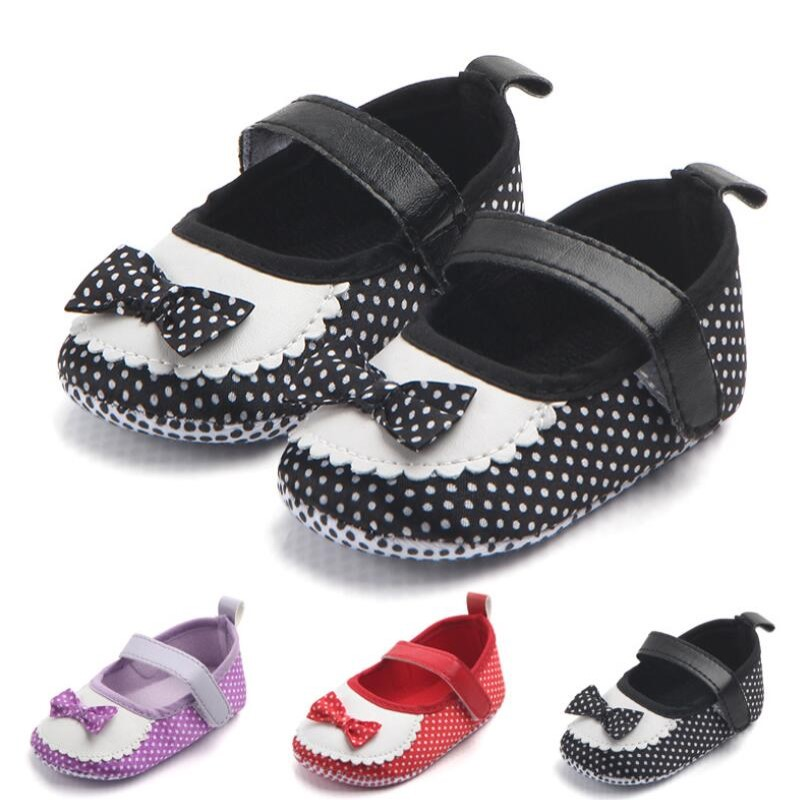 Mother & Kids Baby Shoes Punctual #babygirldressshoes#dress Shoes Butterfly Knot Baby Prewalker Shoes Girl Sneakers For Baby Girl Soft Sole Newborn Footwears