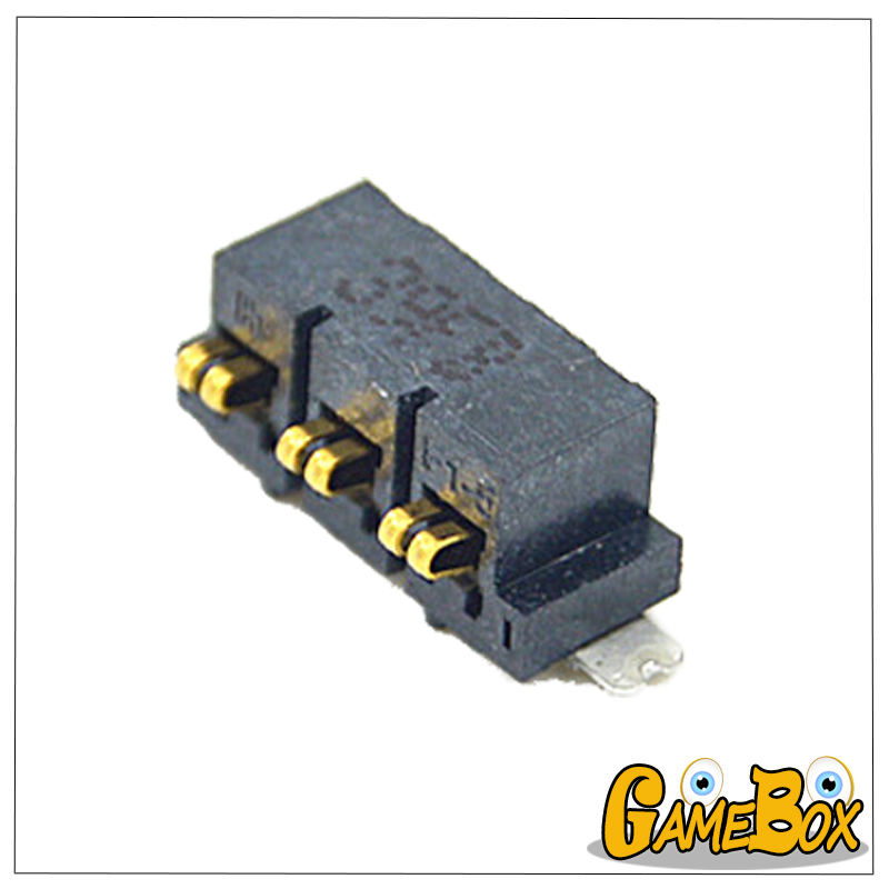 Original <font><b>Battery</b></font> Interface Socket Slot For 2D <font><b>Battery</b></font> Socket for Nintend <font><b>2DS</b></font> Console image