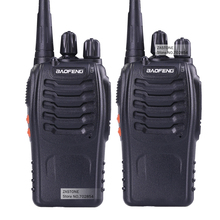 2 PCS Baofeng BF-888S Walkie Talkie 5W Handheld bf 888s for UHF 5W 400-470MHz 16CH Two-way Portable CB Radio