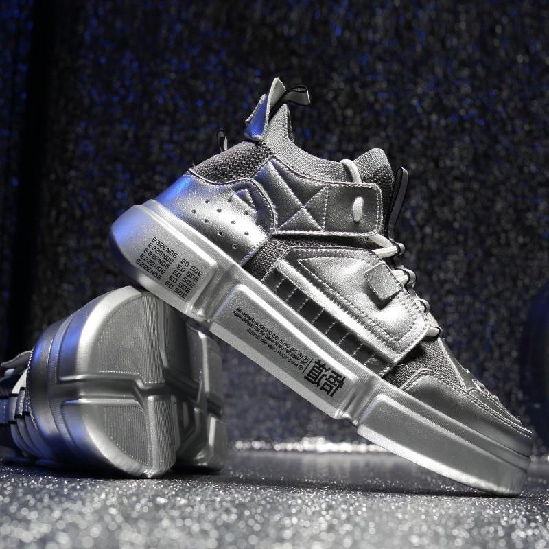 Hip Hop Harajuku Spring dad Sneakers Men Breathable Casual Shoes Men Comfortable Fashion EVA Tenis Masculino Adulto Sneakers