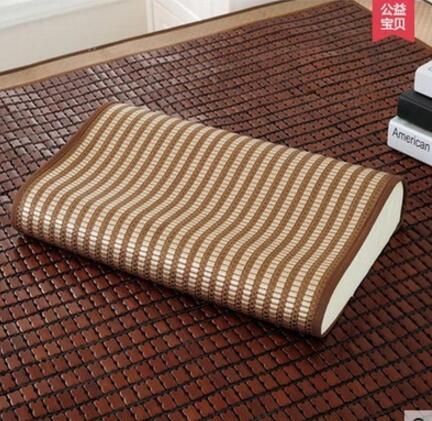 Ice silk mat pillowcase summer pillow cushions Child latex gel pillowcase privacy pillowcase