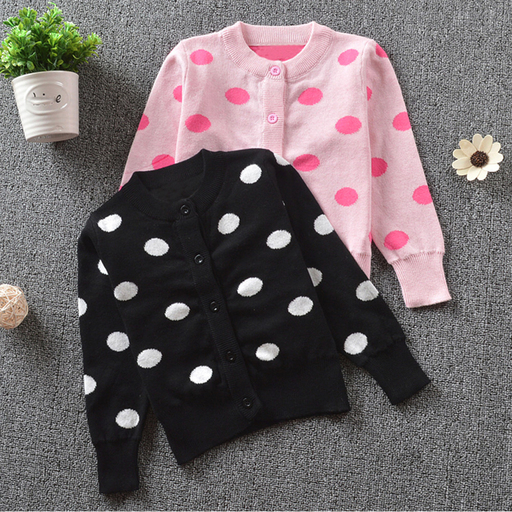 baby girl boys clothes Children Sweater Kids Pullover Cardigan Toddler Warm Knitted Dot Print Coat Cardigan Tops Outfits Clothes rabbit print pullover