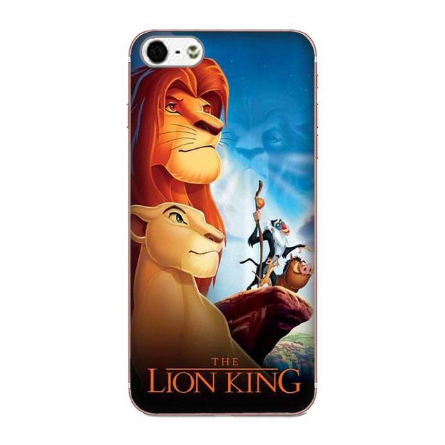 Le Roi Lion Roi Pour Galaxy A3 A5 A7 On5 On7 2015 2016 2017 Grand Alpha G850 Core2 Premier S2 I9082 coque de téléphone En Silicone