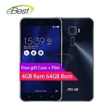 ASUS Zenfone 3 Ze552kl 4G LTE Mobile Phone 5.5″ Snapdragon 625 Octa Core 4gb Ram 64g Rom 16.0 mp Fingerprint ID smartphone