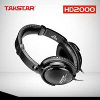 TAKSTAR HD2000 headset music monitor's dj earphones Free Shipping Audio Mixing Recording Professional Monitor Headphones