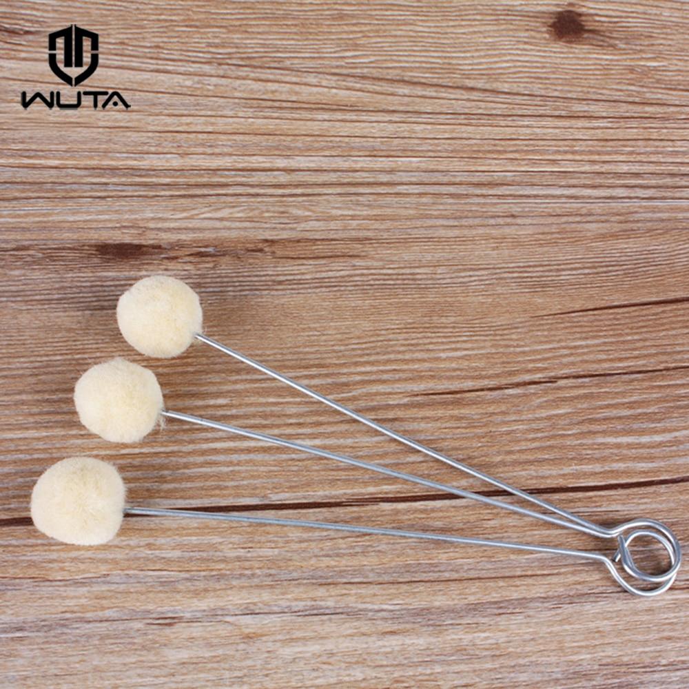 100Pcs Dye tools Leather Craft Wool Dauber /& Finish Applicator Kit 20mm Popular