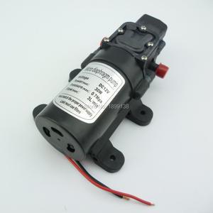 Водяной насос постоянного тока 12 В 24 В, автоматическое отключение, самовсасывающий мембранный Водяной насос высокого давления, мини-насос 3 ...