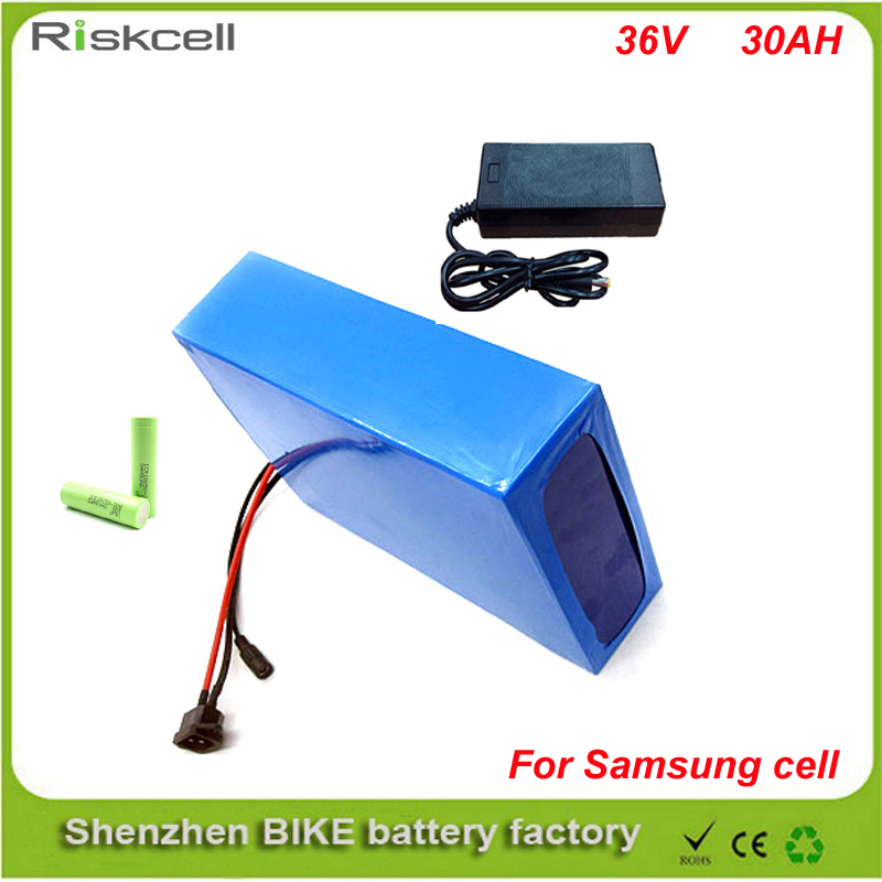 Free shipping bike electric 1000w 36v battery, 36V 30Ah for 36v Bafang/8fun 500w /750w mid/center drive motor with charger ,BMS 36v500w electric bike center motor system bbs cheapest and best on aliexpress free shipping