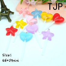 Kawaii Lollipops Charms Pendants for DIY decoration bracelets necklace earring key chain Jewelry Making(China)