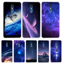 Starry Sky Phone Cases For LG K11 Case Cartoon Silicone Soft TPU Back Cover For LG K11 2018 K 11 Case Coque Fundas Bumper(China)