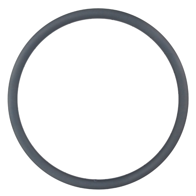 Super light 370g 700c 30mm asymmetric tubeless road disc brake carbon rim U shape 25mm width