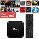 X96mini Android TV BOX X96 mini Smart TV BOX 2GB 16GB S905W Quad Core 2.4G Wireless WIFI box tv h96 media player