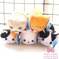 Free Shipping AMUSE Nap Cat Plush Toy 23cm Creative Cartoon Cat Doll Children Birthday Gifts Christmas Gifts Decoration CO-112