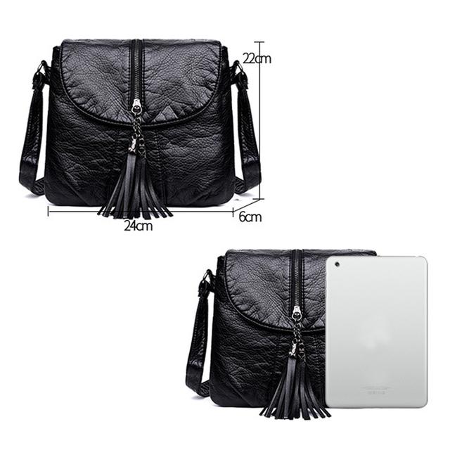 New Designer Shoulder Soft Leather Women Handbag