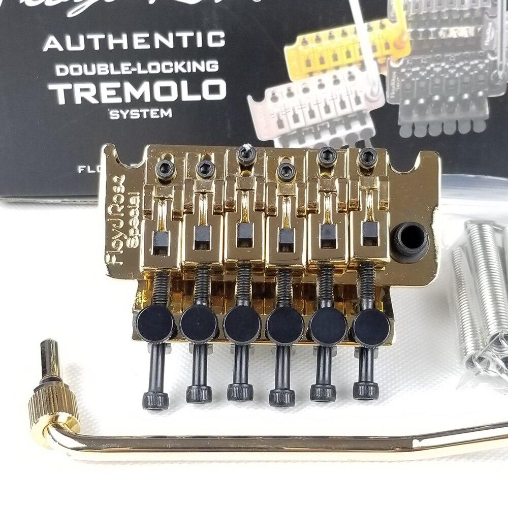 ARM Floyd Rose Special Электрогитары тремоло Системы мост с R3 гайка FRTS3000 золото Сделано в Корее (без упаковки)