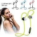 Sweatproof fone de Ouvido Bluetooth Gancho do Ouvido Sem Fio Esporte 3D Estéreo Fones De Ouvido com Cancelamento de Ruído com Microfone para Telefone Inteligente