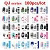 100pcs Cute Cartoon Nail Art Decal Wraps Stickers Adhesive Full Cover Polish Foils Decoration Wholesale