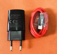 Carregador de viagem original ue plug adapter + tipo c cabo para umidigi cristal mtk6737t quad core 5.5 Polegada fhd frete grátis Carregadores de celular     -