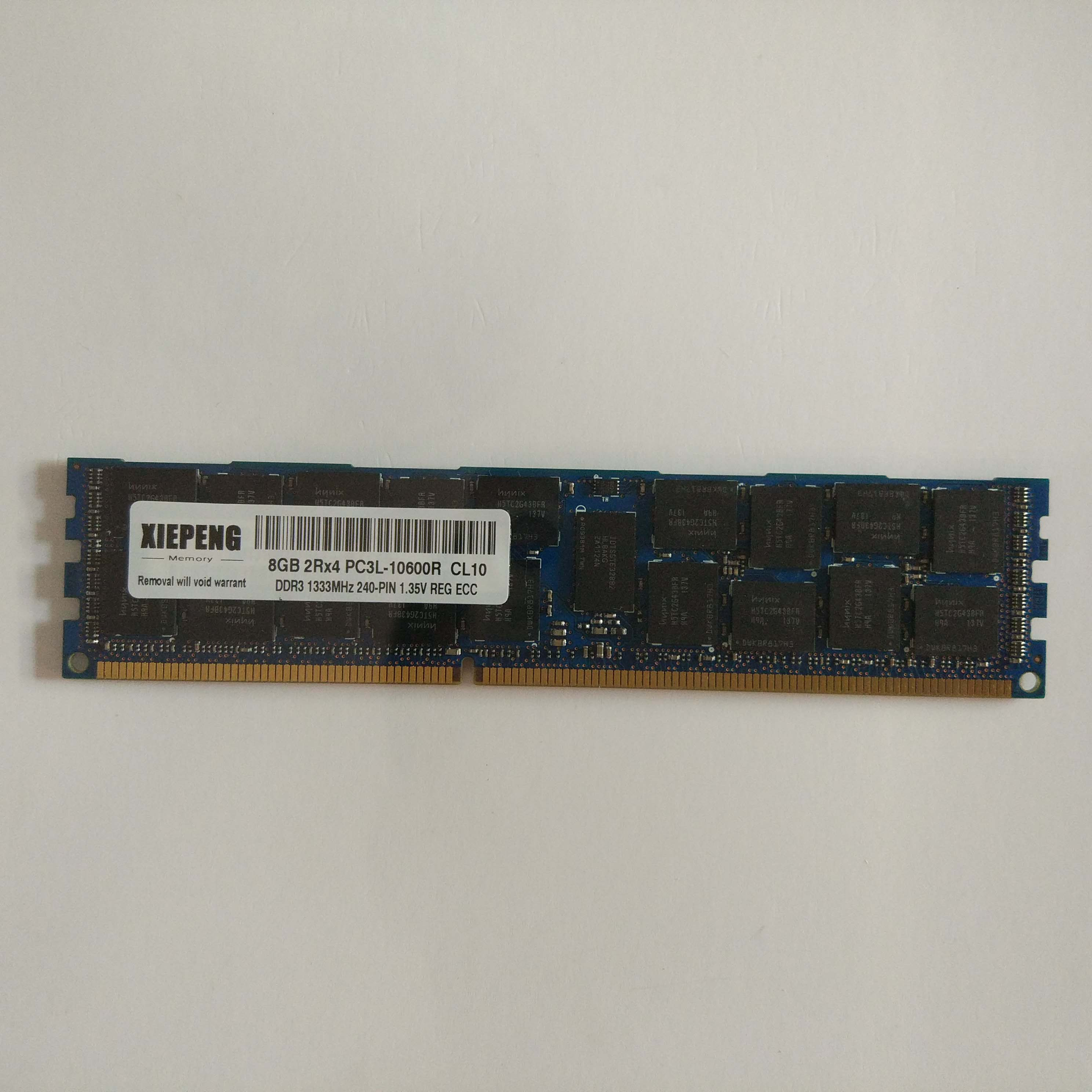 New Hynix 1x 8GB 2Rx4 DIMM DDR3 1333 MHz PC3-10600R CL9 ECC Registered RDIMM REG