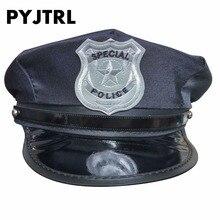 PYJTRL Octogonal Chapéu Chapéus Tampão Da Polícia Uniforme Tentação Ds  Trajes Militares Chapéus de Marinheiro Cap c7599a98fc9