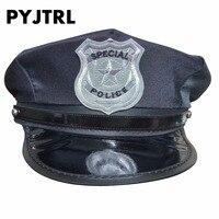 Pyjtrl полиции Hat Шапки Кепки равномерное искушение восьмиугольная Ds костюмы милитари Шапки соломенная шляпа армии Кепки DS190M