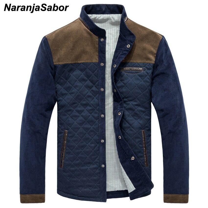 NaranjaSabor primavera otoño chaquetas ocasionales de los nuevos hombres sólidos Patchwork Slim Fit Abrigos Hombre chándal para hombre deportes de los hombres de la marca
