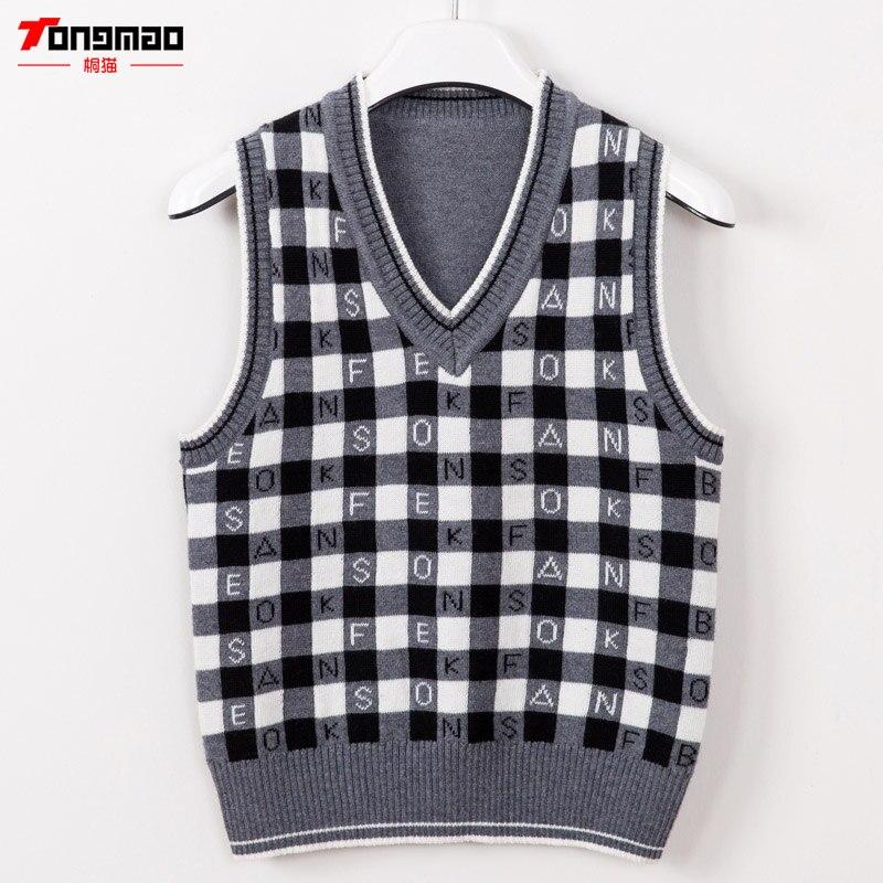 Winwinus Mens Knitwear Pullover Long-Sleeve V-Neck Cozy Geometric Sweaters