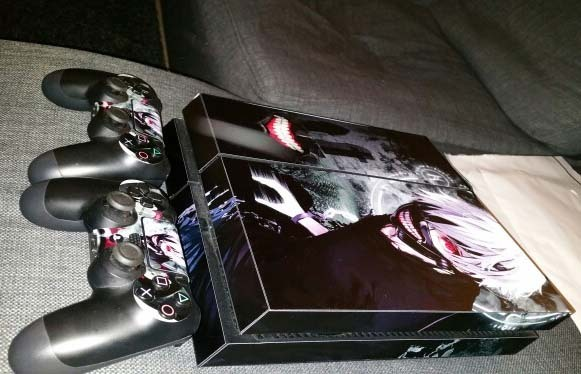 Tokyo Ghouls Ken Kaneki Skins for PS4