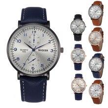562719bc641e Élégant Et Simple Tempérament Ceinture Montre mens pas cher montres hommes  de montres dropshipping Homme horloge