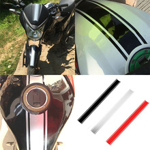 Universal reflectivity sticker Motorcycle Modified Fuel Tank Pad Protector Sticker for Harley Honda Suzuki Yamaha benelli