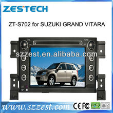ZESTECH 7″ Touch screen car DVD player for Suzuki Grand Vitara with GPS Radio BT TV IPOD Rearview 6CDC Canbus