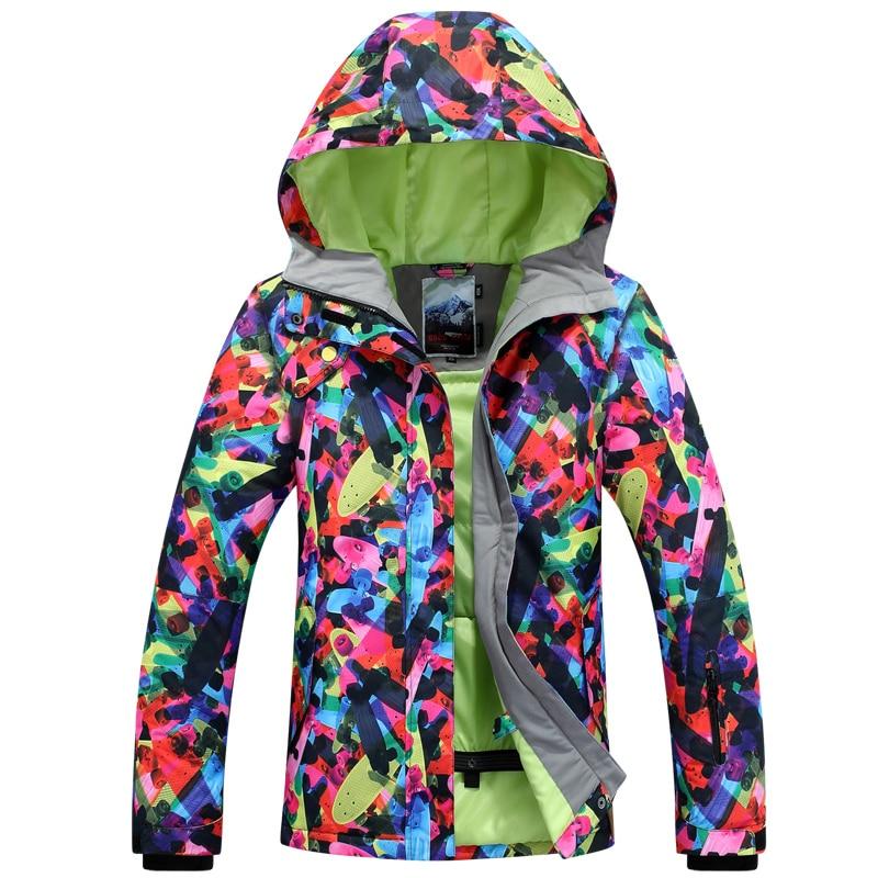 GSOU SNOW Double Single Board Women's Ski Suit Winter Outdoor Windproof Waterproof Breathable Warm Ultra Light Ski Jacket недорого
