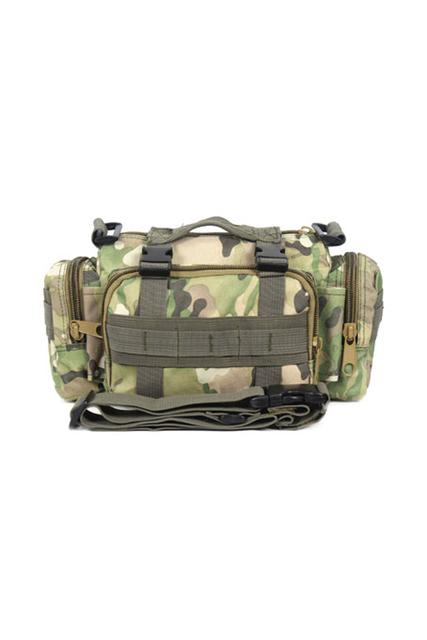 TEXU Homens Ombro Pacote de Cintura Bolsa Militar Multi-propósito Saco de Camuflagem CP
