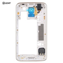 Replacement Middle Bezel Back Frame Housing Cover For Samsung Galaxy S5 i9600 G900F G900H Mobile Phone Parts And Accessories lcd screen bezel middle frame separator frame remover for sumsung note2 note3 s3 s4 s5 i9600 9500 9300