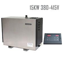 Плата 15 кВт 380-415 В 50HZStainless сталь сверхмощное использование энергии разговор парогенератор CE эффективная стоимость