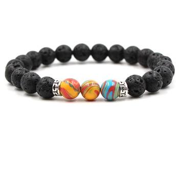 Healing Balance Reiki Stones Yoga Charm Bracelets