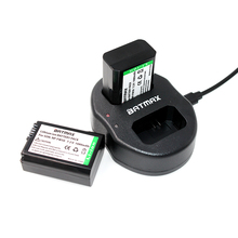 2x NP-FW50 NP FW50 Batería de Reemplazo del Li-ion y Cargador USB Dual para sony nex-5 nex-7 slt-a55 a33 a55 a37 a3000 a5000 a51000 A6000